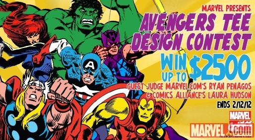 Mighty Fine's Avengers Tee Design Contest