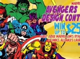 Mighty Fine's Avengers Tee Design Contest