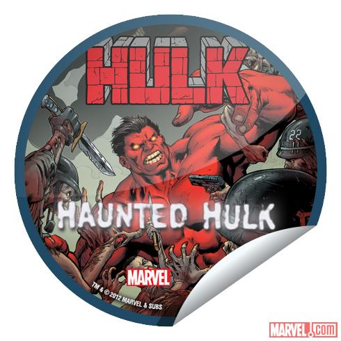 Hulk #50 GetGlue Sticker