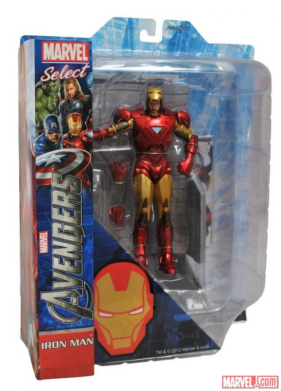 Iron Man figure from Diamond Select Toys