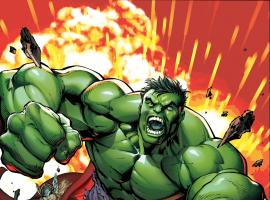 Hulk & his fellow Avengers