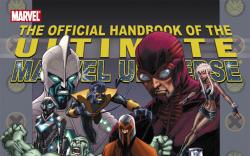 Official Handbook of the Ultimate Marvel Universe #2 Book 2 (2006) #1 Cover