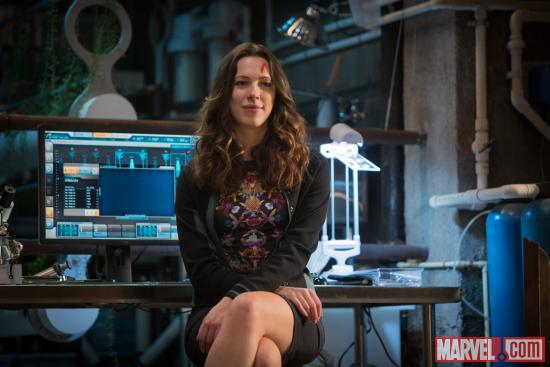 Rebecca Hall stars as Maya Hansen in Marvel's Iron Man 3