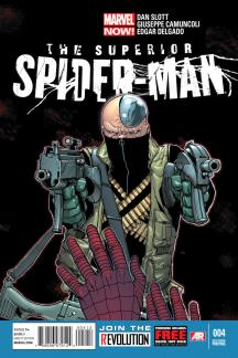 Superior Spider-Man #4  (2nd Printing Variant)