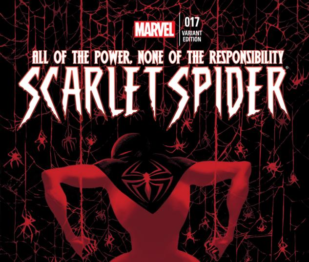 SCARLET SPIDER 17 DELL'OTTO VARIANT (1 FOR 15)