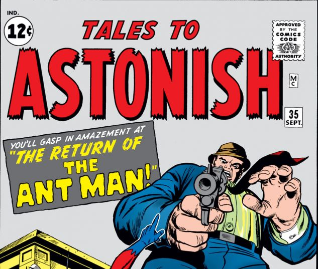 Tales to Astonish (1959) #35 Cover