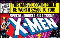 Uncanny X-Men (1963) #137 Cover