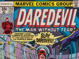 Daredevil #154 cover