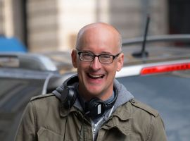 Director Peyton Reed on the set of Marvel's Ant-Man