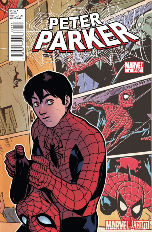 PETER PARKER #1 Cover by Rafael Alberquerque