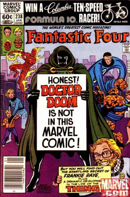 FANTASTIC FOUR #238