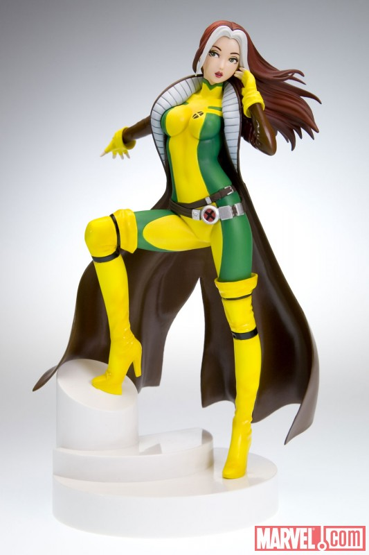 Rogue Long Coat Variant Bishoujo Statue from Kotobukiya