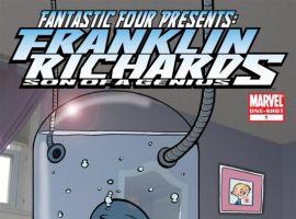 FANTASTIC FOUR PRESENTS FRANKLIN RICHARDS (2007) #1 COVER