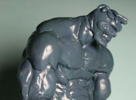 Early Marvel Zombies Hulk sculpt