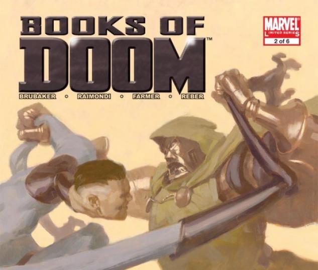 BOOKS OF DOOM (2007) #2 COVER