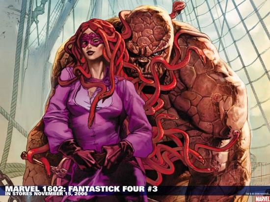 Marvel 1602: Fantastick Four (2006) #3 Wallpaper