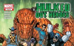 WORLD WAR HULKS: HULKED OUT HEROES #2 cover by Humberto Ramos
