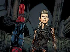 AMAZING SPIDER-MAN art by Phil Jimenez