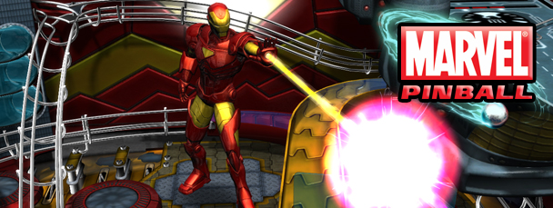 Iron Man Blasts Off in Marvel Pinball