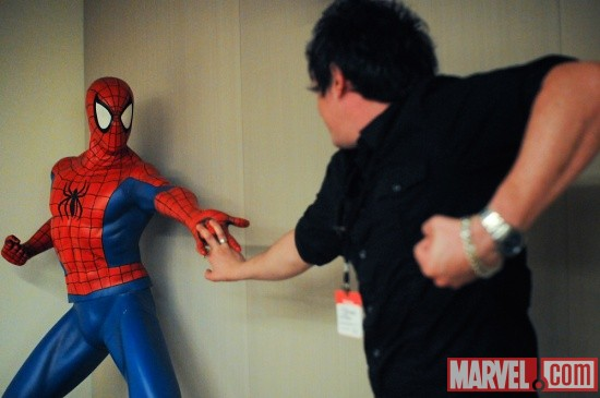 Ian and Spidey