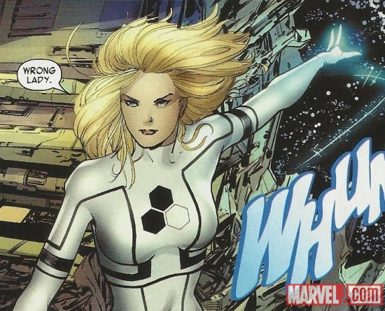 The Invisible Woman by Barry Kitson