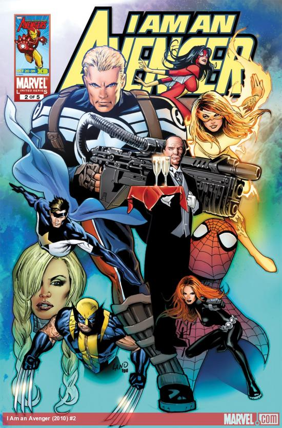 I Am an Avenger (2010) #2