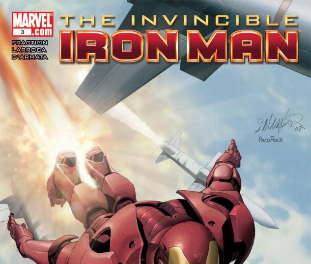 Invincible Iron Man (2008) #3