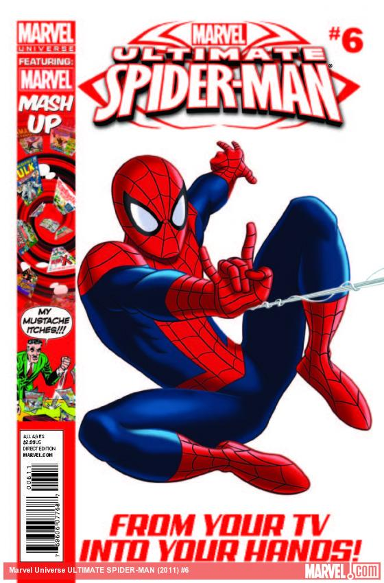 MARVEL UNIVERSE ULTIMATE SPIDER-MAN 6