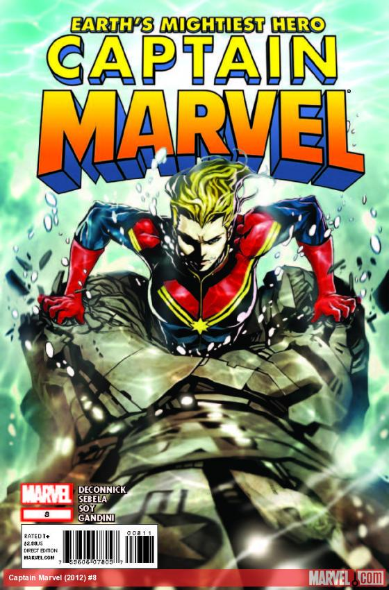 CAPTAIN MARVEL 8