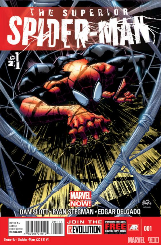 Superior Spider-Man #1 cover art by Ryan Stegman