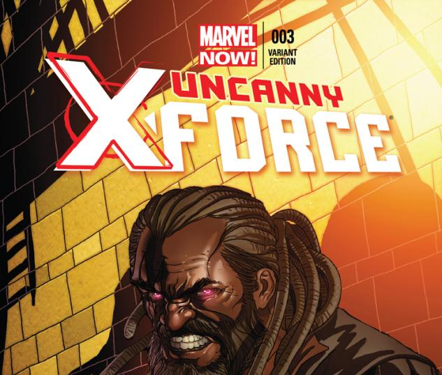 UNCANNY X-FORCE 3 LARROCA VARIANT (NOW, 1 FOR 50, WITH DIGITAL CODE)