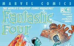 Fantastic Four (1998) #48 Cover