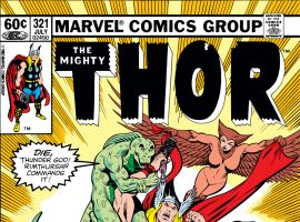 Thor (1966) #321 Cover