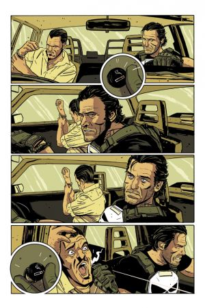 The Punisher (2014) #1 preview art by Mitch Gerads