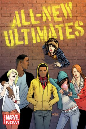 All-New Ultimates #1 variant cover by David Marquez
