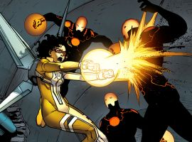 Evole or Perish in New Warriors #2