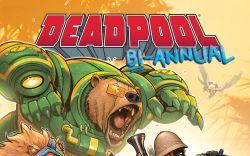 Deadpool Bi-Annual #1 cover by David Nakayama
