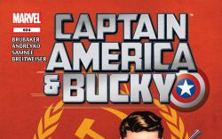 Captain America and Bucky (2011) #624 Cover