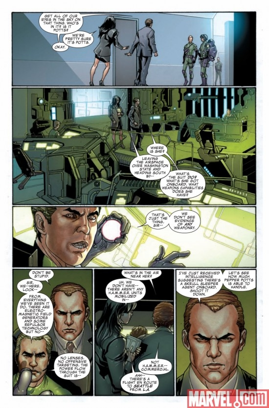 INVINCIBLE IRON MAN #12 preview page 4
