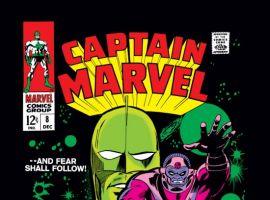 CAPTAIN MARVEL #8 COVER