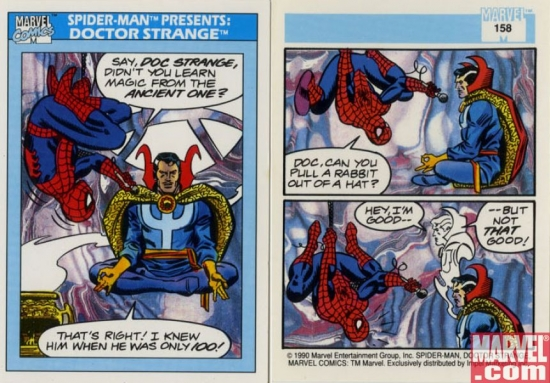 Spider-Man Presents: Doctor Strange, Card #158
