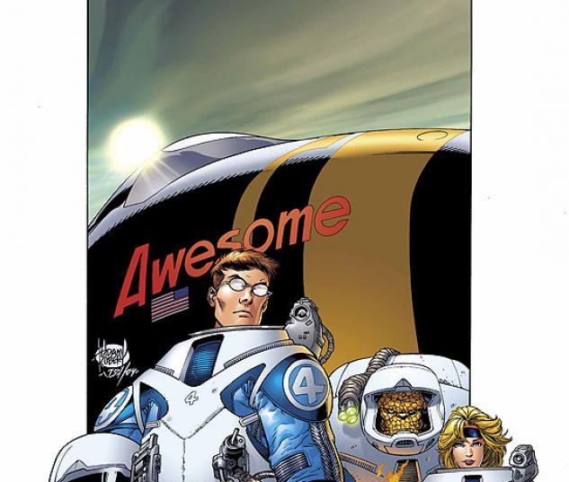 ULTIMATE FANTASTIC FOUR (2005) #15 COVER