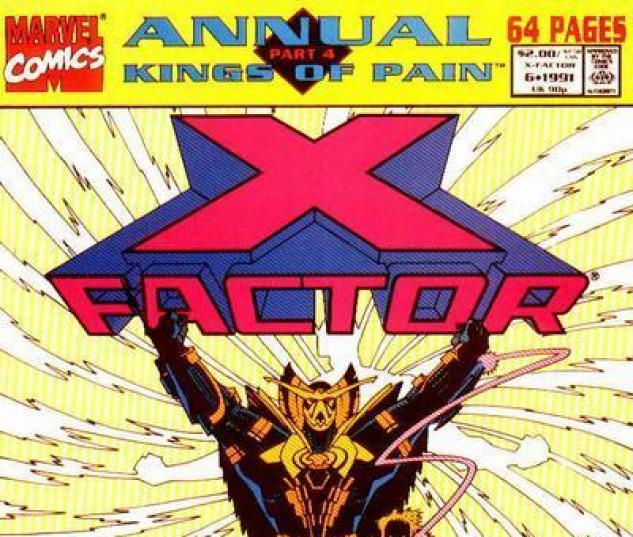 X-Factor Annual #6 cover by Mike Mignola