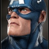 Captain America Life-Size Bust from Sideshow Collectables