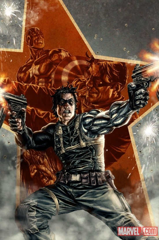 Winter Soldier #1 cover by Lee Bermejo