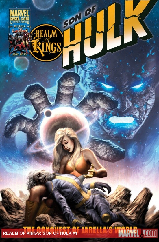 Realm of Kings: Son of Hulk (2010) #4