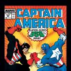 Captain America #350 cover art