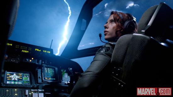 Black Widow (Scarlett Johansson) in Marvel's The Avengers