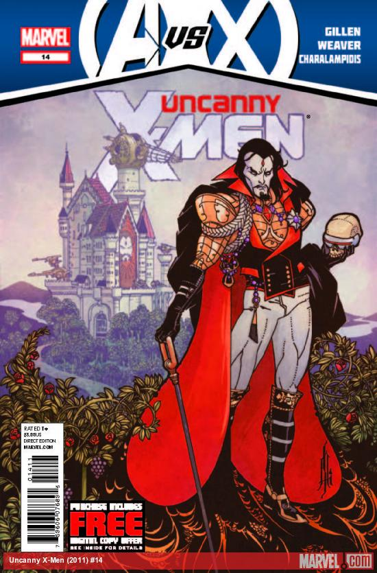 UNCANNY X-MEN 14 (AVX, WITH DIGITAL CODE)