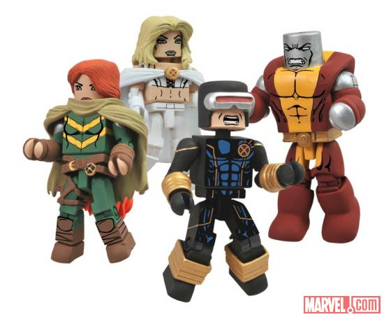 Diamond Select Toys Avengers Vs. X-Men Minimates Group Shot